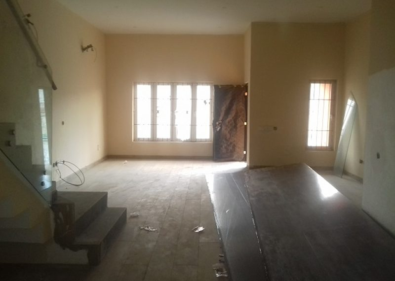 A newly built 3 bedroom terrace duplex with attached boy's quarter