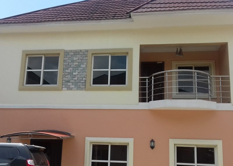 A tastefully built 4 bedroom fully detached duplex with a room boy's quarter
