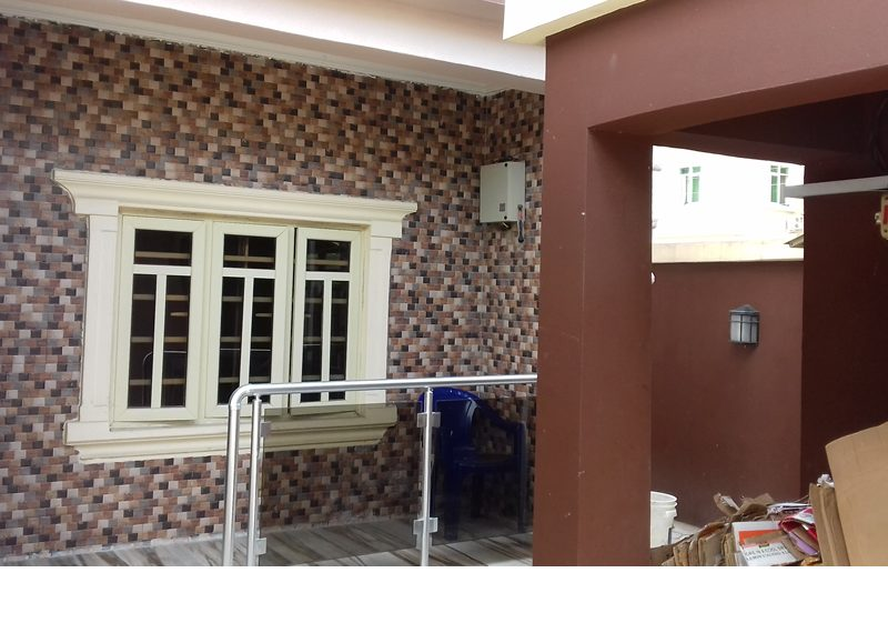 A beauteously built 4 bedroom semi-detached duplex with a room bq