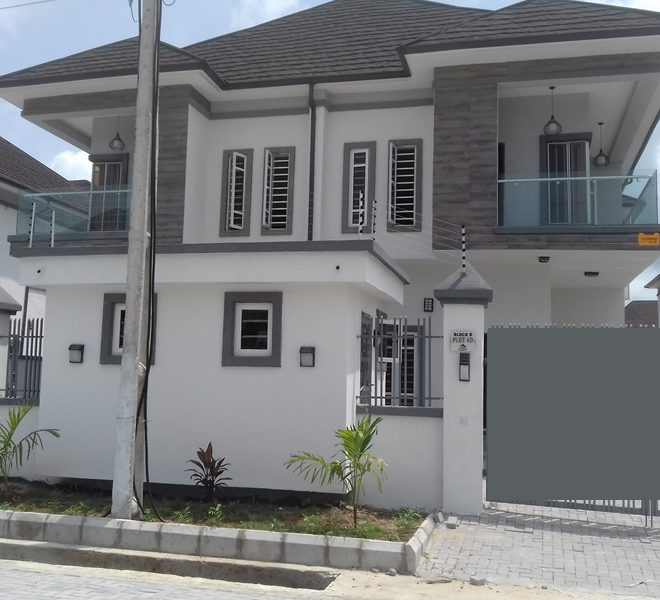 A well built and spacious 4 Bedroom Semi-detached duplex with a BQ
