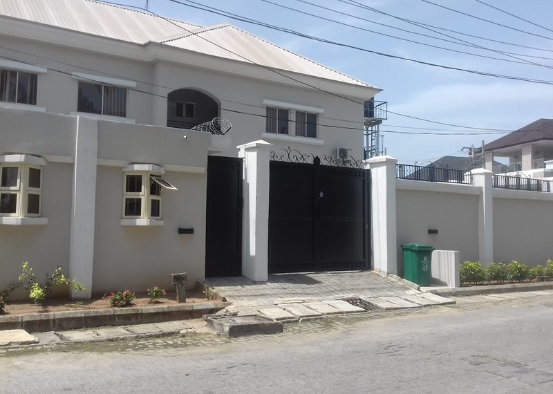 A newly built 4 bedroom semi-detached duplex with two rooms' BQ