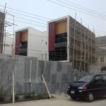 A brand new 5 bedroom terrace duplex with a room boy's quarter