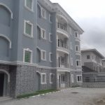 A block of 8 units of 3 bedroom flat