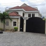 Well-built 8 bedroom fully detached duplex with 4 room boy's quarter