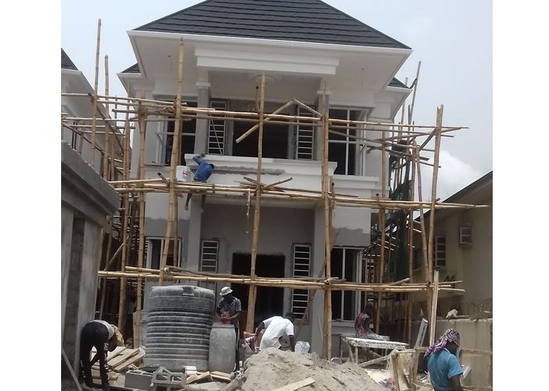 An off plan 5 bedroom fully detached duplex with a room boy's quarter