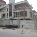 A luxury 4 bedroom terrace duplex with attached boy's quarter