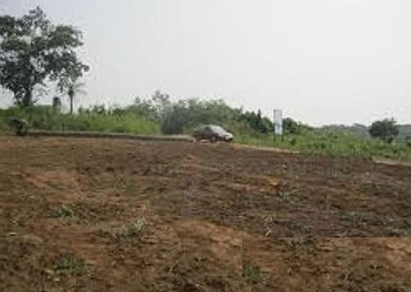 A fully sandfilled land measuring 9,081sqm