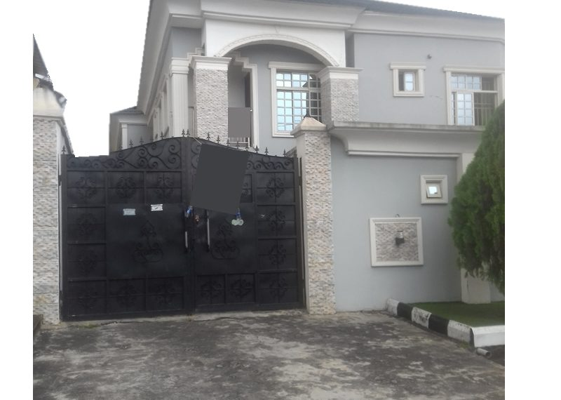 A tastefully built 4 bedroom semi-detached duplex with attached BQ