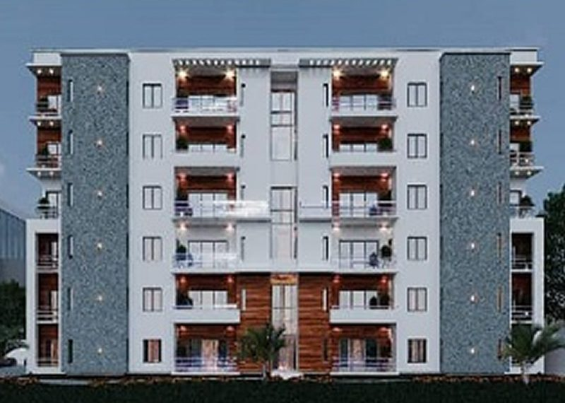 An off plan luxury 3 bedroom flat 5th floor with ancillary facilities