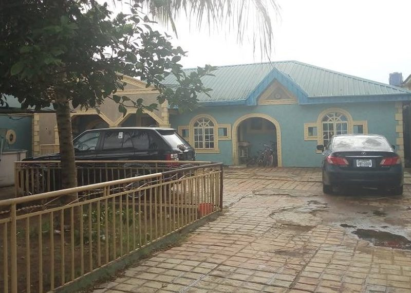 A new 3 bedroom bungalow
