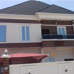 A luxury 5 bedroom fully detached duplex with a room boy's quarter