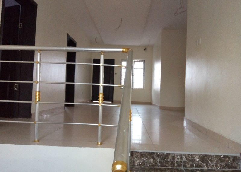 A newly built 5 bedroom fully detached duplex with a room boy's quarter