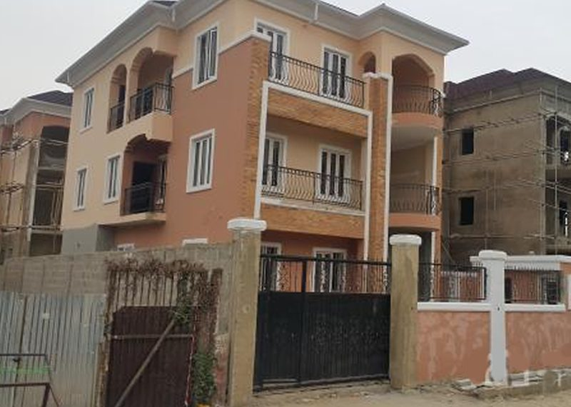 A newly built 6 bedroom fully detached duplex and a room BQ