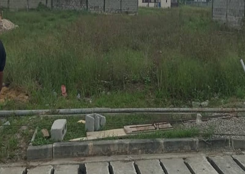 A residential land measuring 629sqm