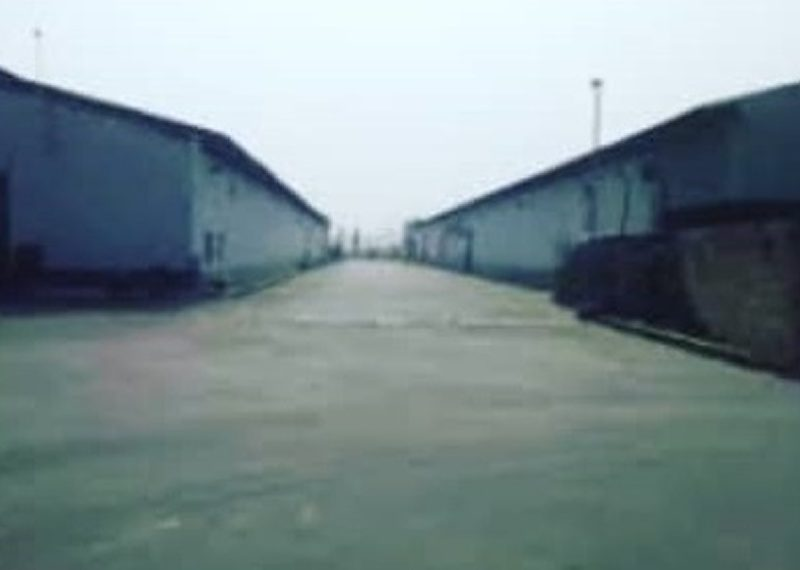 A massive warehouse with 3 storey building office block
