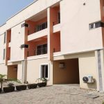 A tastefully built and serviced 4 bedroom terrace duplex with a BQ