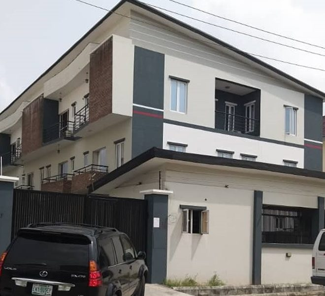 A tastefully finished 4 bedroom terrace duplex with attached BQ