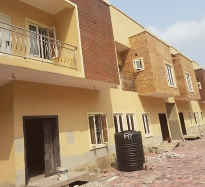 A brand new partly furnished and fully serviced 3 bedroom luxury terrace duplex