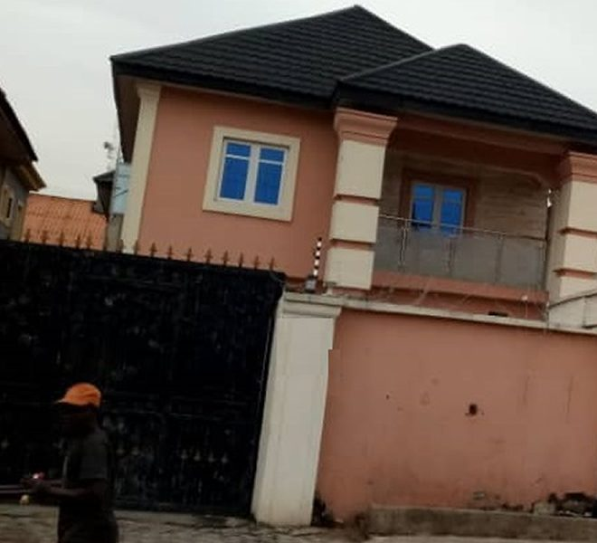 A tastefully built 5 bedroom fully detached duplex with attached BQ