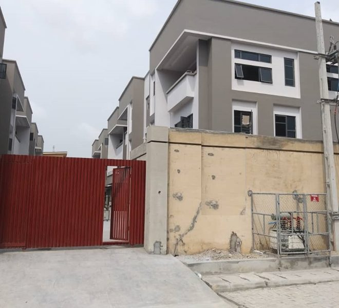 A newly finished 5 bedroom fully detached duplex with a room BQ