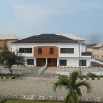 A large 5 Bedrooms Semi-detached Duplex sitting on 465sqm land