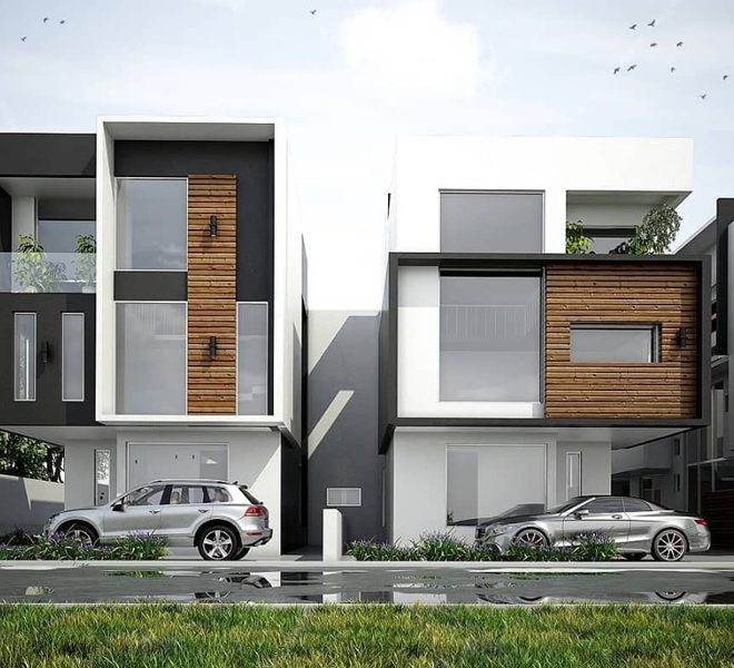 A tastefully finished 5 bedroom semi-detached duplex with a room BQ
