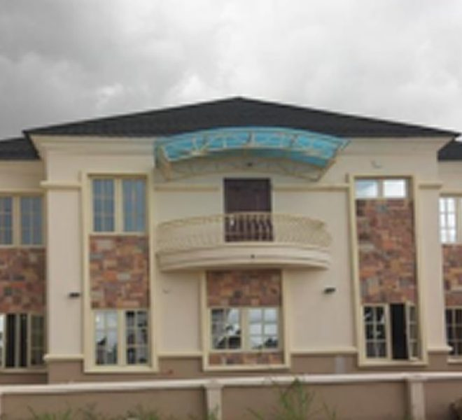 A nicely built 4 bedroom semi-detached duplex with attached BQ,