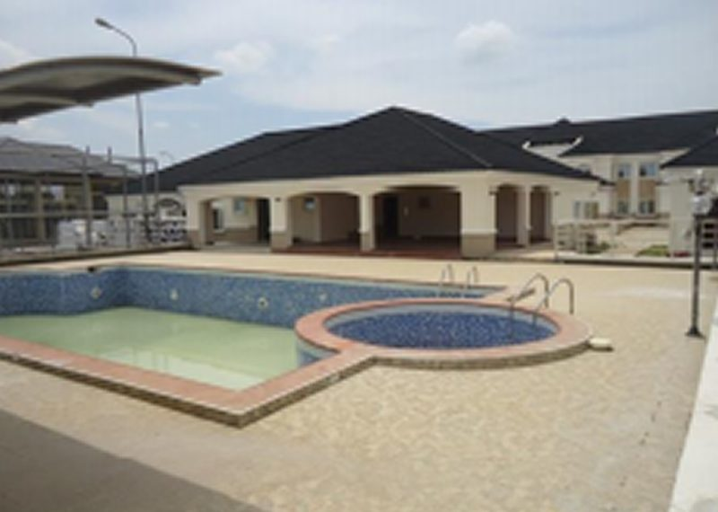 A nicely built 4 bedroom terrace and a room BQ