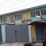 A block of 3 units of 3 bedroom flat with attached BQ, 2 units of 2 bedroom flat with attached BQ,