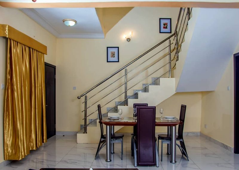 A furnished 4 bed detached duplex with bq for sale in Lagos, Ajah