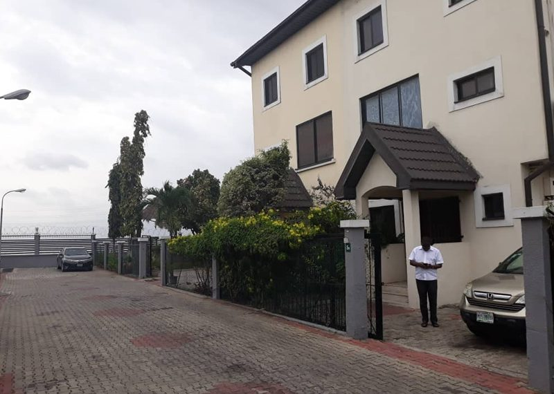 Water view Luxury 5 bedroom semi-detached duplex with BQ for sale in Lagos, Ikoyi