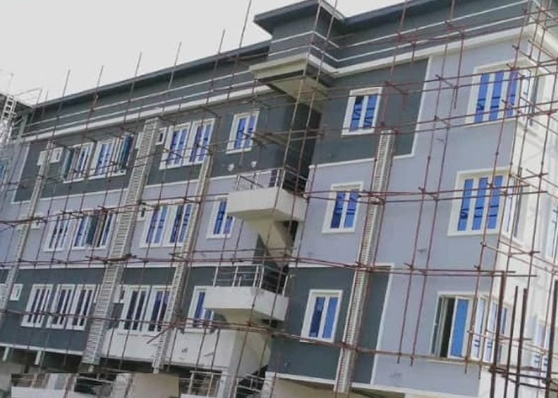 A newly built 3 bedroom flat with bq for sale in Lagos, Lekki