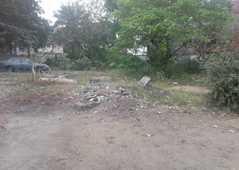 An empty land of 600sqm for sale in Lagos, Ikeja GRA.