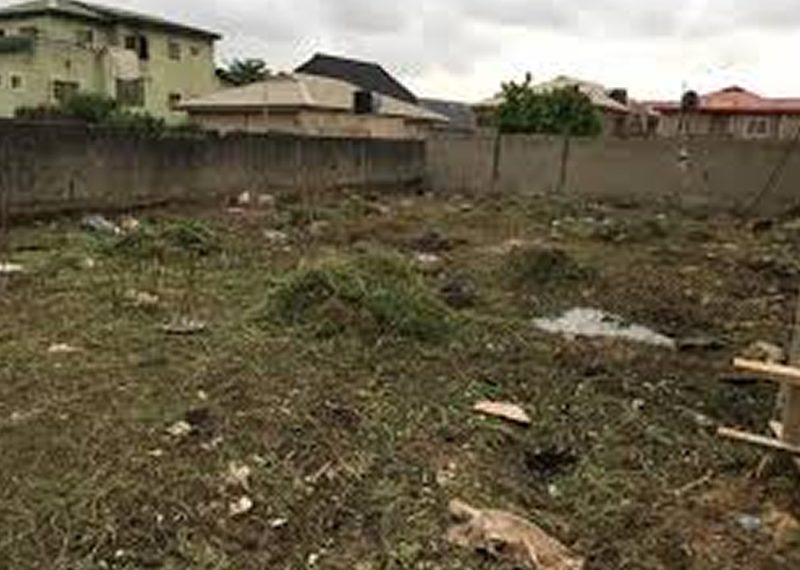 A residential land of 650sqm for sale in Lagos, Gbagada.