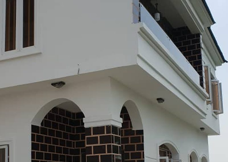 A newly built 4 bed detached duplex for sale in Lagos, Lekki Ikota