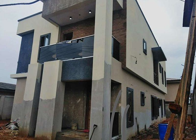 Newly built 4 bedroom detached duplex for sale in Lagos, Magodo GRA