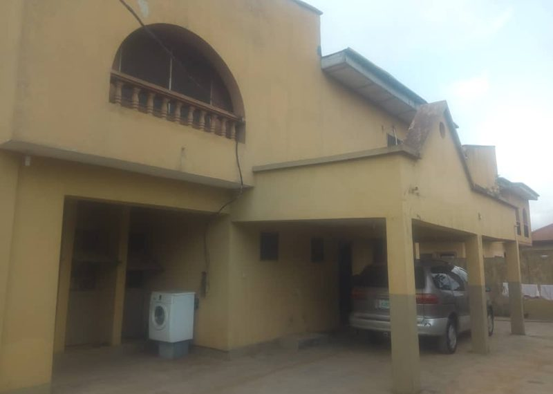 A Blocks of 4 Units of 3 Bedroom Flats for sale in Lagos, Abule Egba