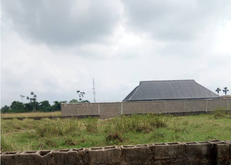 A plot of land for sale in Ogun Arepo
