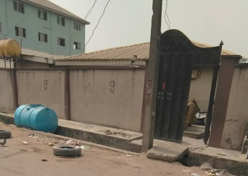 A bungalow is available for sale in Lagos, Shomolu, Ladi Lak