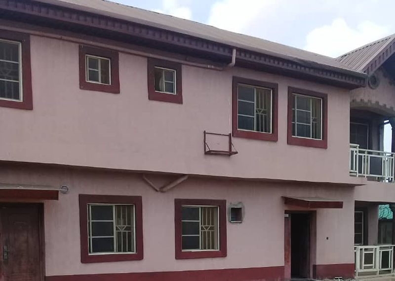Well-built 8 bedroom detached duplex for sale in Lagos, Igando, Akesan