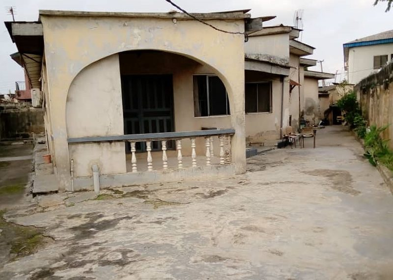 A block of 2 units of 3 bedroom flat for sale in Lagos, Agege, Oko Oba