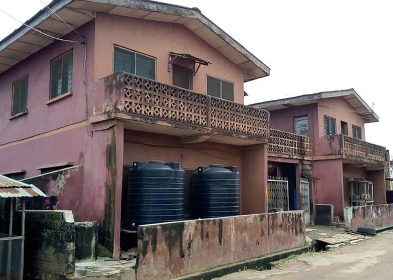 Two blocks of 2 units of 3 bedroom flat each for sale in Oyo, Ibadan, Agbowo