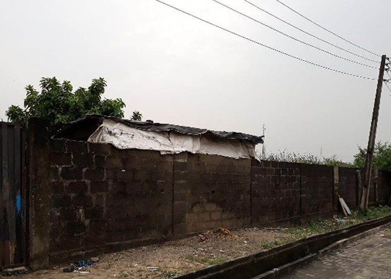 A bare fenced and gated land of 2,300sqm for sale in Lagos, Lekki Phase 1