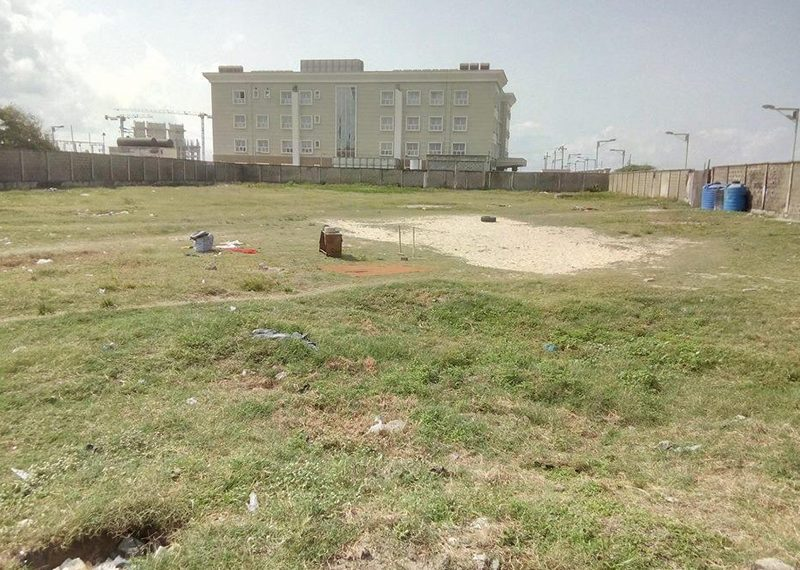 A fenced and gated land 4,685.558sqm for Joint Venture in Lagos, Oniru