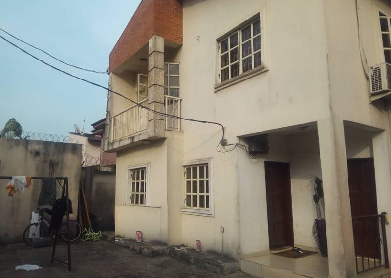 A 5 bedroom detached duplex for sale in Lagos, Omole Phase 1
