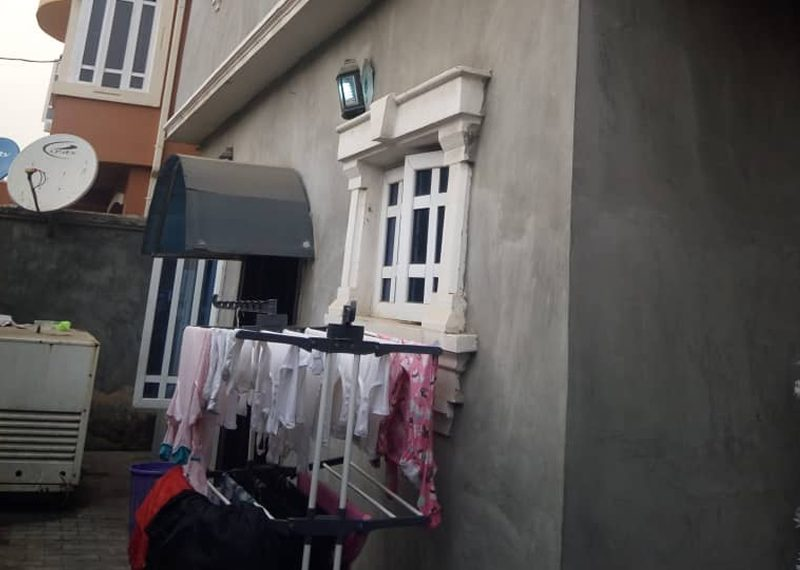 A 4 bedroom semi-detached duplex for sale in Lagos, Anthony Village