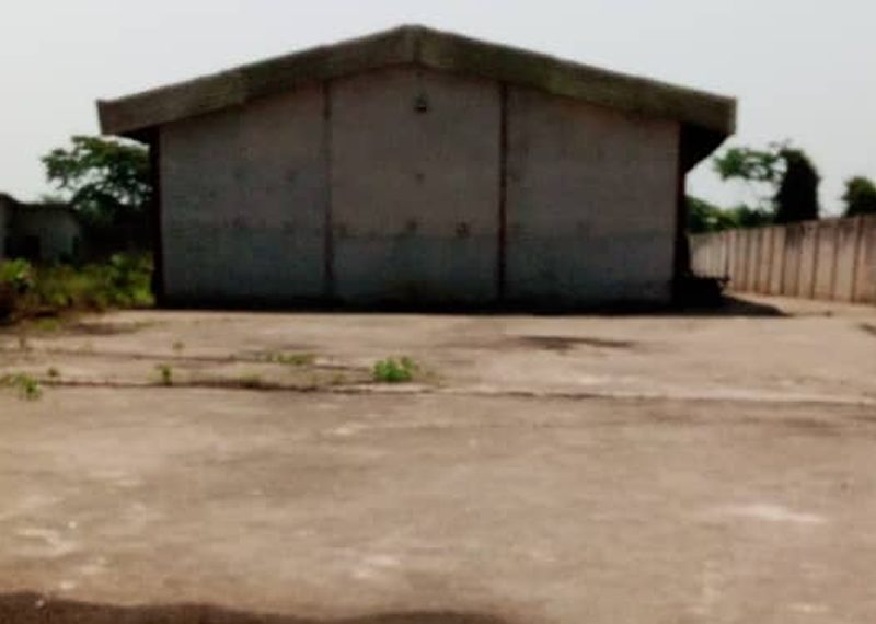 A ware house built on a 6,000sqm land for sale in Ogun, Opic