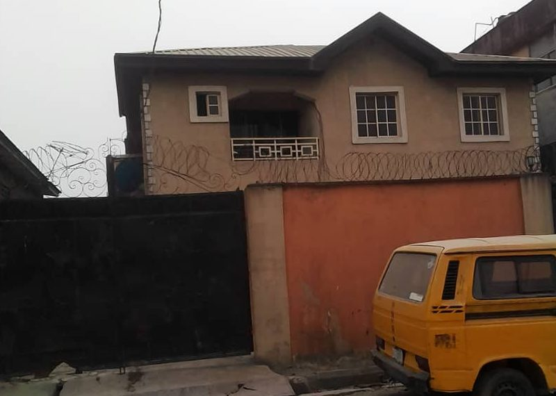 A block of 4 units of 3 bedroom flat for sale in Lagos, Surulere, Ijesha