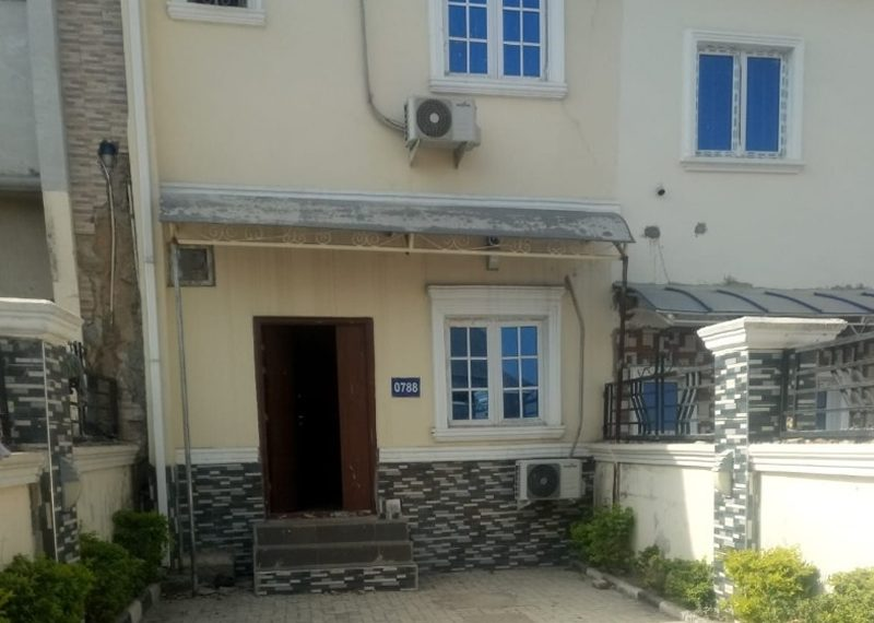 Newly built 3 Bedroom terrace duplex for sale in Abuja, Asokoro