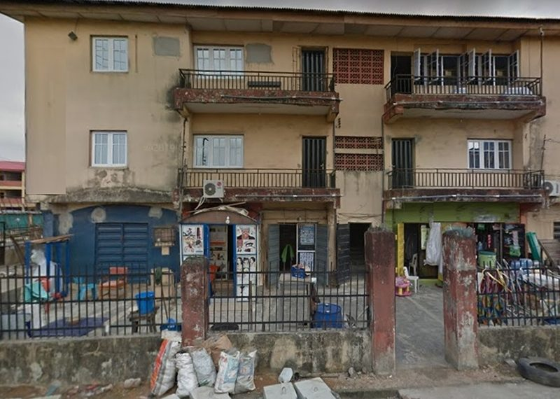 A block of 5 units of 3 bedroom flats for sale in Lagos, Shomolu, Pedro